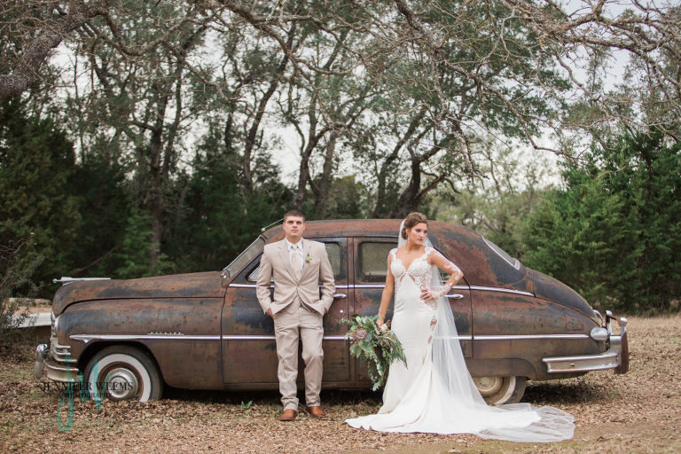 Vista West Ranch Wedding, wedding rings, wedding flowers, bridal bouquet, wedding dress, wedding venue, country wedding, rustic, outdoor, old cars, bridal party,gold, bling, blush, lace, bridesmaid, lace, reception, wedding decor, Jennifer Weems Photography, Austin Wedding Photographer