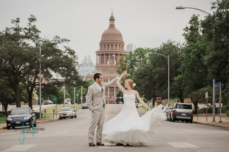 Bob Bullock Center, Wedding, Austin Wedding, University of Texas wedding, UT Tower, cake balls, wedding reception, wedding rings, bride, groom, wedding dress, wedding venue, Jennifer Weems Photography