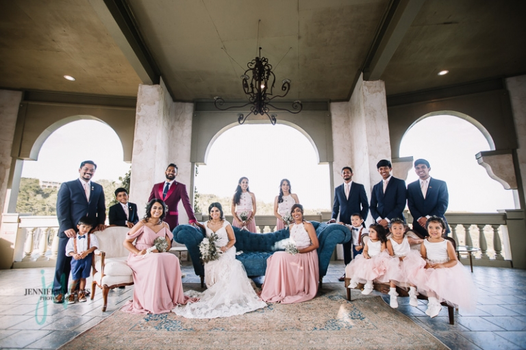 Villa Antonia, Wedding, Indian Wedding, Hispanic Wedding, Sri Lanka, bride, groom, Austin Wedding Venue, Pink wedding, wedding dress, wedding ring, sari, Jennifer Weems Photography, Lake Travis Photographer, wedding photographer, wedding party