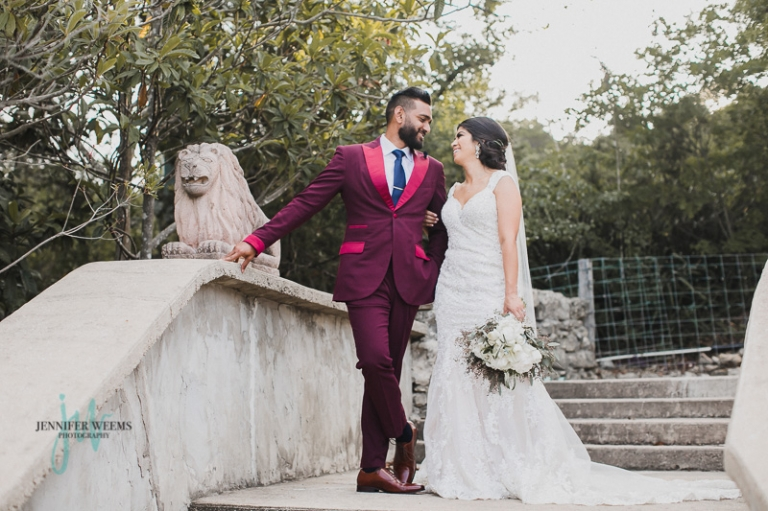 Villa Antonia, Wedding, Indian Wedding, Hispanic Wedding, Sri Lanka, bride, groom, Austin Wedding Venue, Pink wedding, wedding dress, wedding ring, sari, Jennifer Weems Photography, Lake Travis Photographer, wedding photographer