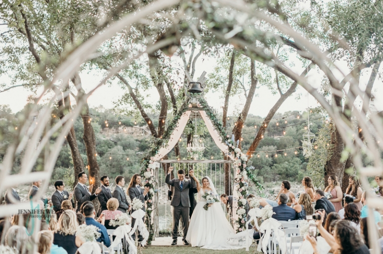 Blissful Hill, wedding venue, Wedding, spicewood, texas, outdoor ceremony, bride, groom, wedding dress, bridal party, reception, wedding flowers, jennifer weems photography, old car, lake travis, wedding photographer, lake travis photographer